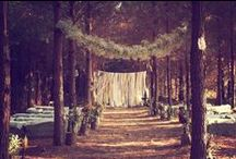 Wedding inspiration forest