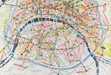 Maps and places / Mapas, lugares, sitios...