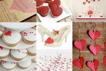 Valentine Green Wedding - San Valentino Matrimonio Green / Matrimonio Green a tema : S. Valentino