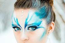 face painting / make up Karneval