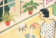 art . illustration . RETRO / Illustration of the 20th Century / by Michelle Brand