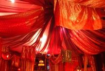C O L O R M A G I C red / RED color therapy inspiration. ROOT CHAKRA