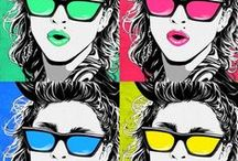 Pop Art your style / #GLOSSYxPOPART  / by Crystal B.
