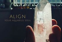 AQUARIUS / Read my article on the zodiac signs and their spiritual color meanings https://www.thecolorreader.com/zodiac/