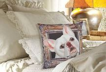 """Perfect Frenchie Pillows / Adorable French Bulldogs in frames are now pillow covers. They measure 17"""" x 17"""" Price: $30.00 Come visit for more info! Get a 20% discount on the whole store! Just put this url in your browser and join my mailing list: http://eepurl.com/b5mvPr"""