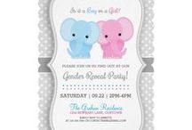 Baby Shower - Gender Reveal - Announcements / All things baby related & fun baby shower invitations you can personalize entirely, for the shower you're hosting!