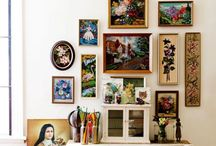 Gallery Wall Love / Gallery Walls and Art arrangements