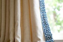 Window treatment details / Custom window treatment ideas, trims, edging, draperies, window treatment styles, designs / by Kerry Ann Dame