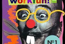 Workfun Chria / Oficinas de arte / craft para crianças