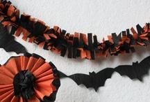 DIY Halloween & Fall Crafts / Halloween and Fall Themed Craft Tutorials, Ideas, and Projects for Paper Decorations, Halloween Lanterns,  Wreaths, Mixed-Media Pumpkins, and Autumn Leaf Nature-Inspired Crafts.  / by WebSpinstress