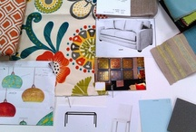 Modern Cottage / Design Project for a young family's second home. Bright, modern and easy care.