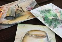 Traveling Postcards