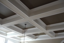 Coffered Ceilings / I am in love with this ceiling style. / by Derek Haley