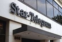 The Star-Telegram (Fort Worth)  / The Star-Telegram moved into its new home in October 2011, leaving a 2 city block building (with one piece - an annex- already demolished-) for 1 editorial/news-gathering floor but a named building. They remodeled the continuous news desk in an effort to prepare to meet the digital breaking news demands and improve communication.