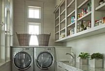 Laundry/Mudroom Inspiration / laundries and mudrooms