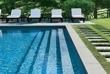 Backyard/Pool Inspiration / backyards and pools / by 22gardenstreet