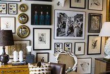 Gallery Wall Inspiration / gallery wall inspiration / by 22gardenstreet