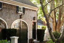 Carriage House/Garage Inspiration / carriage houses and garages
