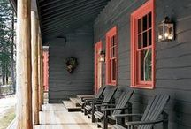 Porch Inspiration / porches / by 22gardenstreet