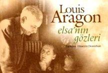 """Les Yeux d'Elsa / """"L'avenir de l'homme, c'est la femme. Elle est la couleur de son âme"""" Louis Aragon (Extrait de Le Fou d'Elsa) (1897 - 1982) / by Isabel Carreira"""