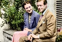 """W.E. - Abdication Crisis / """"I have found it impossible to carry the heavy burden of responsibility, and to discharge my duties as King as I would wish to do, without the help and support of the woman I love."""" ~ Edward,  Duke of Windsor / by Isabel Carreira"""
