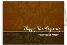Giving Thanks / Great Thanksgiving dinner invitations and more / by Carla Rolfe