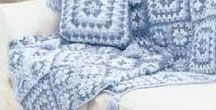 Afghan/Blankets/Rag Rug