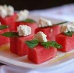 Saláty: ovoce