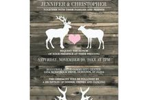 Wedding/Bridal/Couples Shower Invitations