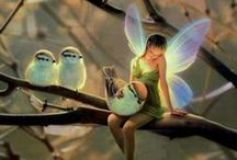 Fairies and Fairy Gardens / by Dorrie Bourque