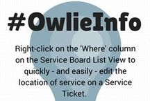 OwlieInfo / Your guide for ConnectWise quick tips! / by ConnectWise