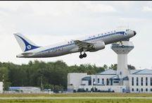 Planes at Chopin Airport