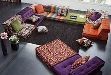 Interior objects: furniture & fabrics / by Vera Voit