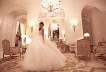Wedding Dresses / Dream wedding dresses... I don't know what style I would want / by Marissa Adrian