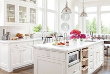 Interiors: kitchen and dining / by Vera Voit