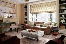 Interiors: livingroom / by Vera Voit