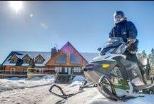 Pays de la motoneige | Snowmobile Country / Cet hiver, goûtez aux plaisirs enneigés que vous offrent les régions de Lanaudière et de la Mauricie. Réunies sous l'appellation Québec Authentique, elles vous accueillent avec leurs conditions de sentiers motoneige exceptionnelles et leur offre infinie de circuits à travers 4 800 km de sentiers.