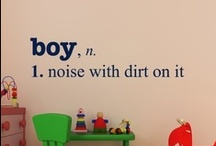 noise with dirt on it / if it's a boy. better luck next time. / by Allison Cournyer