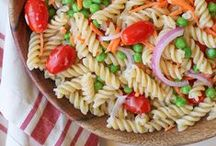 Pasta / Just because you're eating healthy, doesn't mean you have to cut out pasta! This a great collection of healthy pasta recipes.