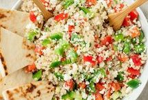Quinoa / Healthy quinoa recipes for lunch and dinner ideas