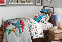 Marvel bedroom for boy / Mood board for decorating young boy's bedroom - superhero fan