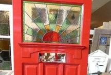 Front doors / Ideas for colourful door for 1930 house