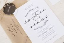 Wedding Stationery Ideas. / Looking for inspiration for your wedding invitations. Looking for a designer. Looking for a printer. Then look no further than the team at James Print.  Contact us if you have an idea you would like to see come to life and we might just create and pin it for you!