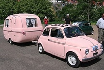 Pink cars & pink bike