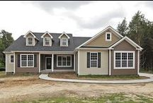 Custom-Designed by Sedgewick Homes / When you don't find a plan that suits your needs, our team can custom-design the home you've dreamed of...from simple to simply fabulous! #Sedgewick_Homes #NC_homebuilder #NC_custom_builder #custom_design