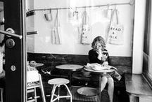 Love a good pose / Cafe sitting / by Butterfly Portraits