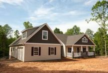 Spring Valley House Plan / Sedgewick Homes - Photos of the interior and exterior of The Spring Valley Plan. #NC_homebuilder #NC_custom_builder