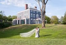 Boston Wedding Venues / Some of my favorite wedding venues in Greater Boston!