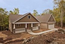 Quail Valley House Plan / A very popular plan with 3 bedrooms, 2 1/2 baths and a 2-car garage. An unfinished bonus room is available. #Sedgewick Homes #NC_homebuilders #NC_custom_builders #construction_company