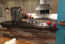 Artis Wall Kitchens / With the versatility of Artis Wall, it's no wonder the removable reclaimed wall coverings look great in kitchens.